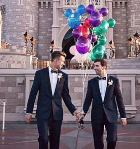 Disney's official Instagram account celebrates gay love and fans are here for it