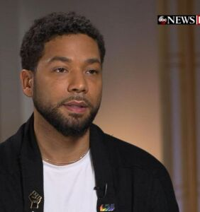 """In first interview since attack, Jussie Smollett says he's """"pissed off"""" at those who doubt his story"""