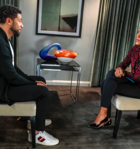Robin Roberts rips into Jussie Smollett for bogus interview, says he arrived two hours late to set