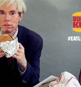 Burger King serves up only queer Super Bowl ad with obscure reference to Andy Warhol