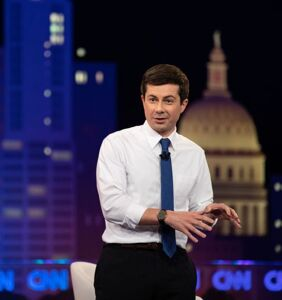 It's official! Pete Buttigieg will be the first out gay man ever to participate in a presidential debate