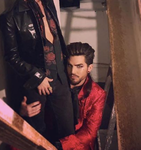 Adam Lambert introduces his new boyfriend and he's a total cutie