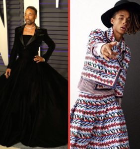 A black man wearing a gown is no threat to black masculinity