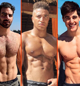Matthew Camp's new booty, Matthew Mitcham's shower, & Pietro Boselli's rooftop gym
