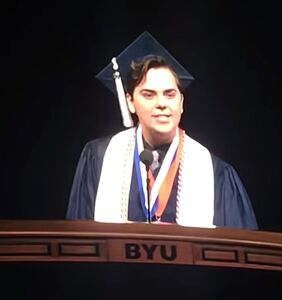 Valedictorian comes out as gay during graduation speech at Mormon university