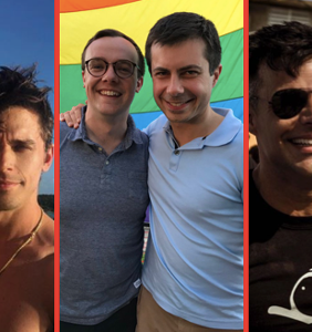 Love at first swipe: 6 famous queer couples who met on the apps