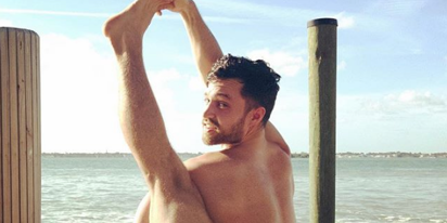 Meet the yogi who specializes in all-male naked yoga classes for gay and bisexual guys