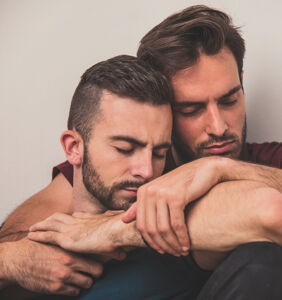 Founder of gay cuddle club insists it's not an orgy, says it's about man-on-man-on-man intimacy