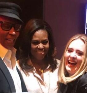 Here's why RuPaul, Michelle Obama and Adele were all hanging out last night