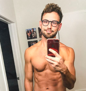 """Former 'Bachelor' star on making out with a dude for the first time: """"It was hot!"""""""