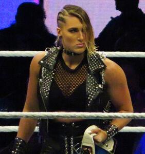 "WWE wrestler Rhea Ripley issues apology after calling fan a ""f*ggot"""