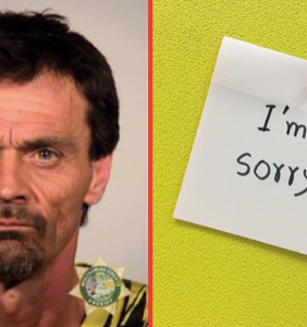 Homophobe who threatened to kill gay man for not giving him a cigarette ordered to write apology note