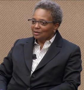 Chicago swears in Lori Lightfoot, city's first black lesbian mayor