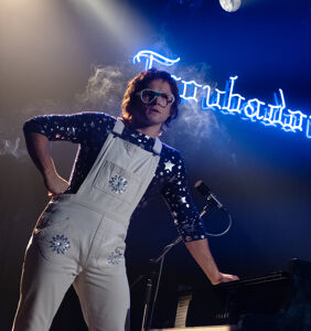 Dexter Fletcher on the sex scene in 'Rocketman' and the Madonna biopic