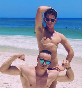 Category is: Pensacola Beach on Memorial Day weekend serving body-ody-ody