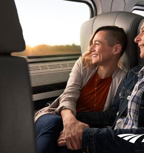 """""""Ride with Pride"""": Kick off your pride journey with Amtrak"""