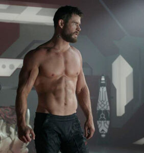 Chris Hemsworth is apparently going to become an erotic stripper