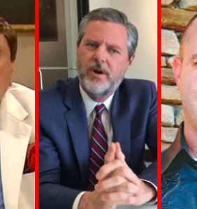 Jerry Falwell Jr. plus 6 other church leaders ensnared in sex scandals