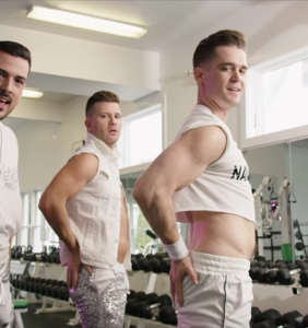 The Boy Band Project hits the gym and the showers in summer bop