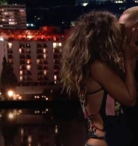 Halle Berry locks lips with Lena Waithe