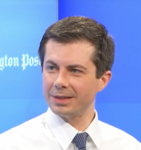 Pete Buttigieg wants to join you for long drives and home workouts