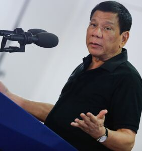 Philippine president comes out of the closet…as a cured gay?