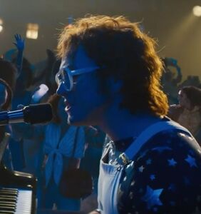 "Official video released for Taron Egerton's version of Elton John's ""Rocket Man"""