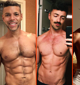 Gus Kenworthy's singlet, Nyle DiMarco's back, & Noah Centineo's full spread