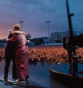 WATCH: Elton John surprises concert goers with a Taron Egerton duet that screams Pride