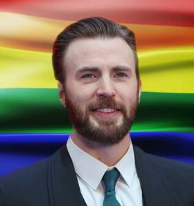 Chris Evans just came for 'Straight Pride' in the most perfect way