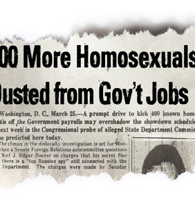 Josh Howard shines a light on the origins of American homophobia in 'The Lavender Scare'