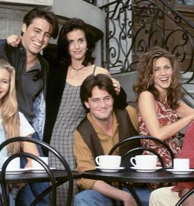'Friends' star has something to say to anyone who takes issue with the show today
