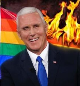 Surprising absolutely nobody, Mike Pence defends Trump's Pride Flag ban