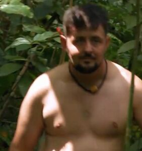 "The first-ever trans man to appear on ""Naked and Afraid"" faced a jaguar"
