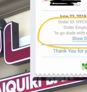 """Customer called 'fat, gay' on restaurant receipt, owners say it was """"just a way of describing him"""""""