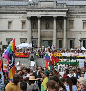 LGBTQ Brits to Trump: Go away