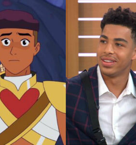 Actor Marcus Scribner spills the sexually fluid universe of 'She-Ra' Season 3