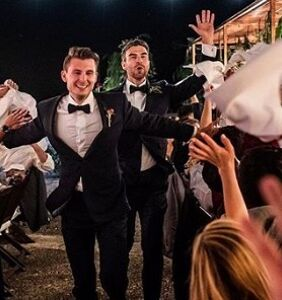 Figure skaters Eric Radford and Luis Fenero get hitched in romantic Spanish wedding