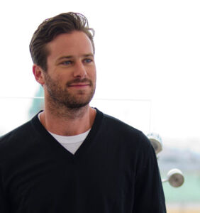 Armie Hammer has been keeping his hands busy during the pandemic