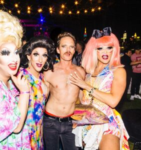 New York Pride Days 1-2: Alan Cumming, Neil Patrick Harris, synchronized swimming