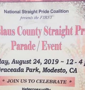 """""""Straight Pride"""" is officially coming to California"""