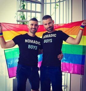 Pride in London is this weekend, and The Nomadic Boys know how to have a good time