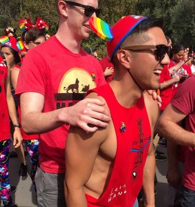 Disneyland goes red for Gay Days once again