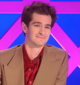 Andrew Garfield has gone to gay heaven…