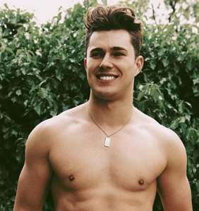 PHOTOS: Reality star Curtis Pritchard spotted partying at a male strip club