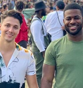 Reporter shares homophobic messages he received after posting photos of him and his boyfriend
