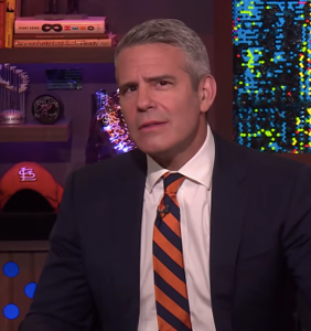 WATCH: Caller propositions Andy Cohen on live TV