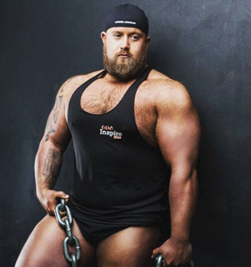PHOTOS: Ireland's first openly gay strongman has something to show you