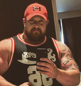 Ireland's first openly gay strongman attends his first Pride in Belfast