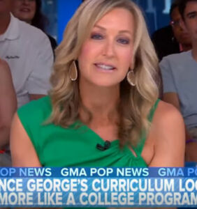 "'GMA' host Lara Spencer admits she ""screwed up"" when she mocked 6-year-old boy for liking ballet"
